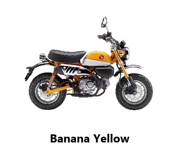 Honda Monkey - Banana Yellow