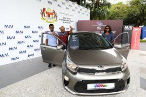 Mr Velu menang Kia Picanto