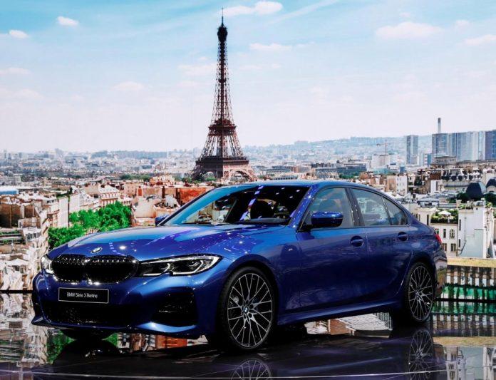 Paris Motor Show - BMW 3 Series