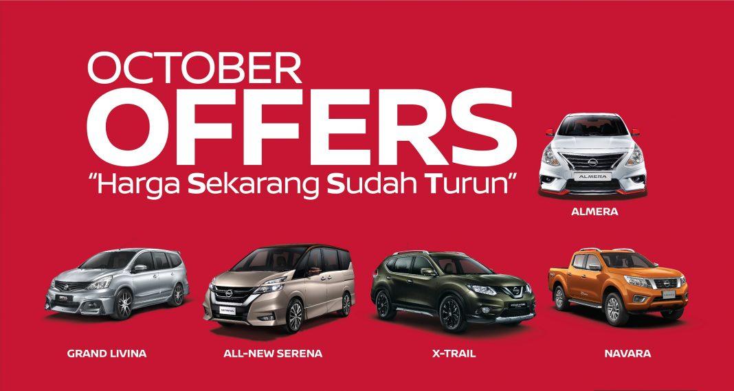 Tawaran Oktober - Rebat Nissan