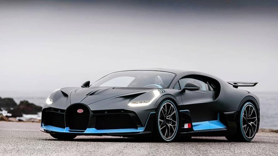 Bugatti Divo yang telah dilancarkan