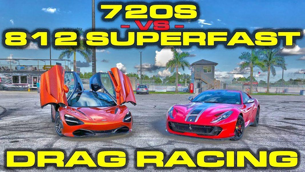 McLaren 720S atau Ferrari 812