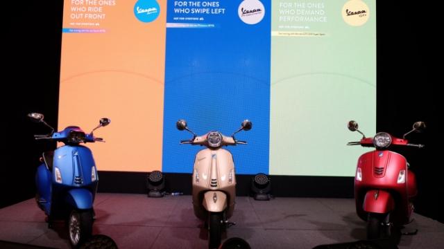 Naza Premira lancar tiga model Vespa