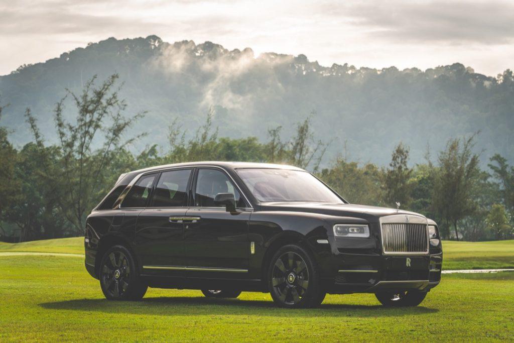 Tayar khas untuk Rolls-Royce Cullinan