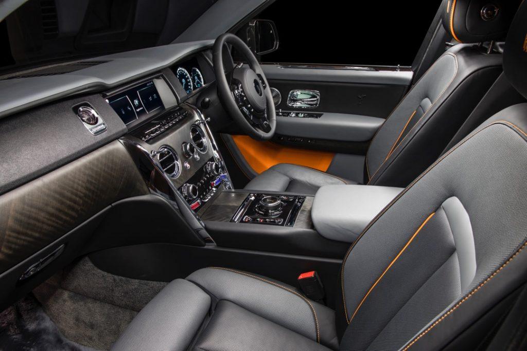 Kabin Rolls-Royce Cullinan