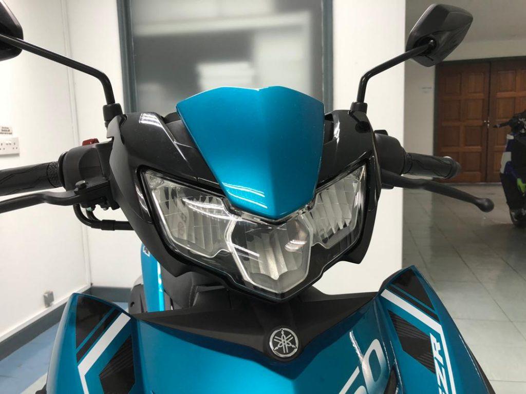 Yamaha Y15ZR v2 - depan