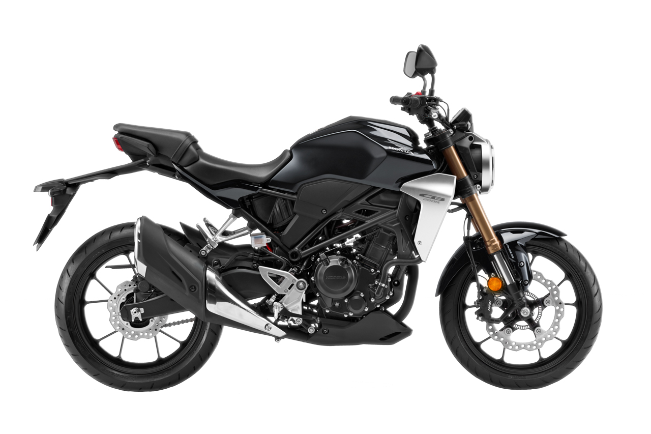 Warna baru Honda CB250R - Grafit Hitam