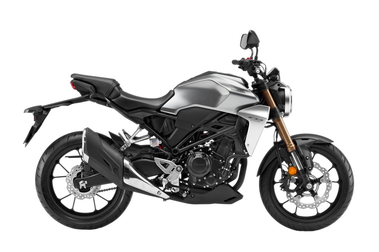 Warna baru Honda CB250R - Crypton Silver Metallic