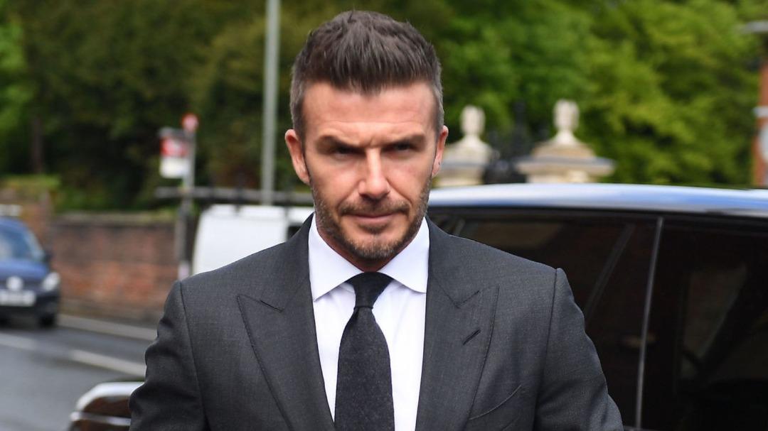 Lesen memandu David Beckham digantung