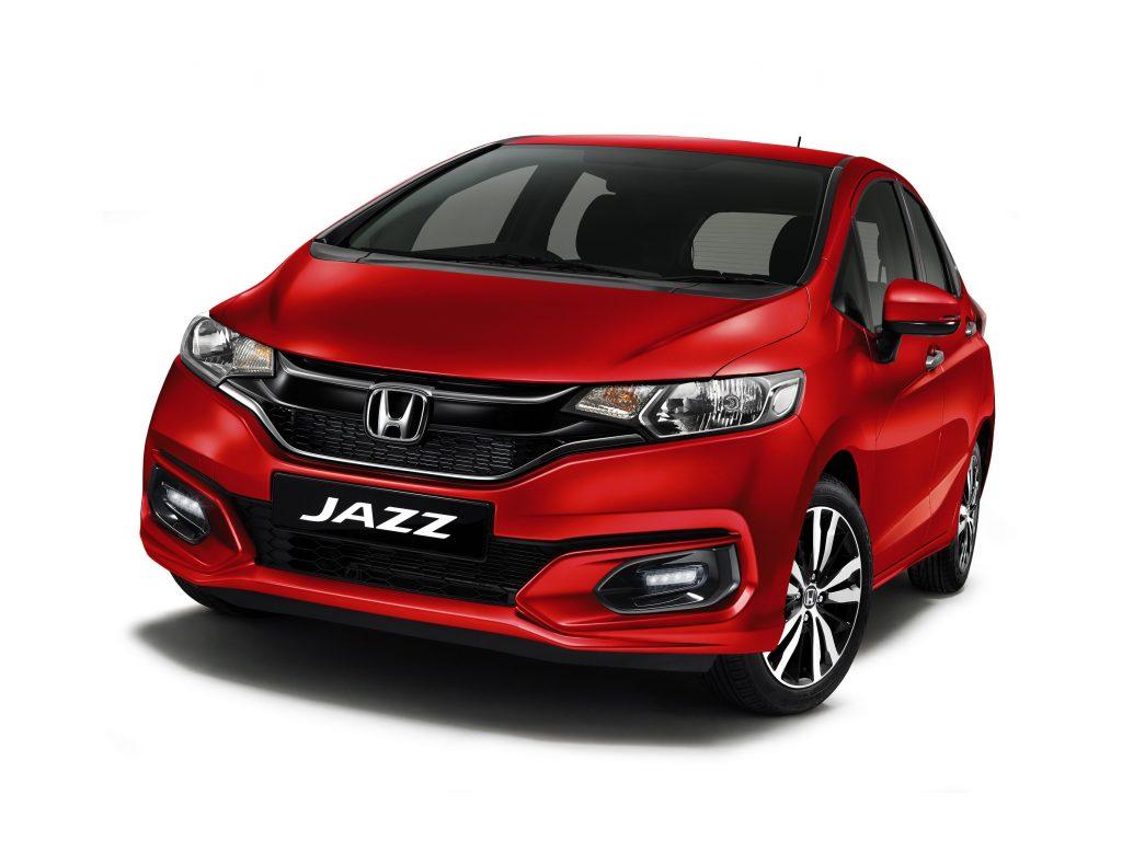Honda Jazz warna baru