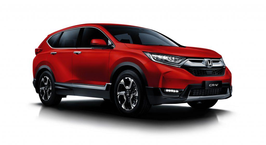 Honda CR-V warna baru