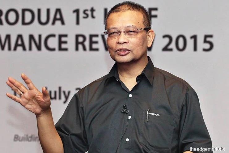 Bekas CEO Perodua, Aminar Rashid