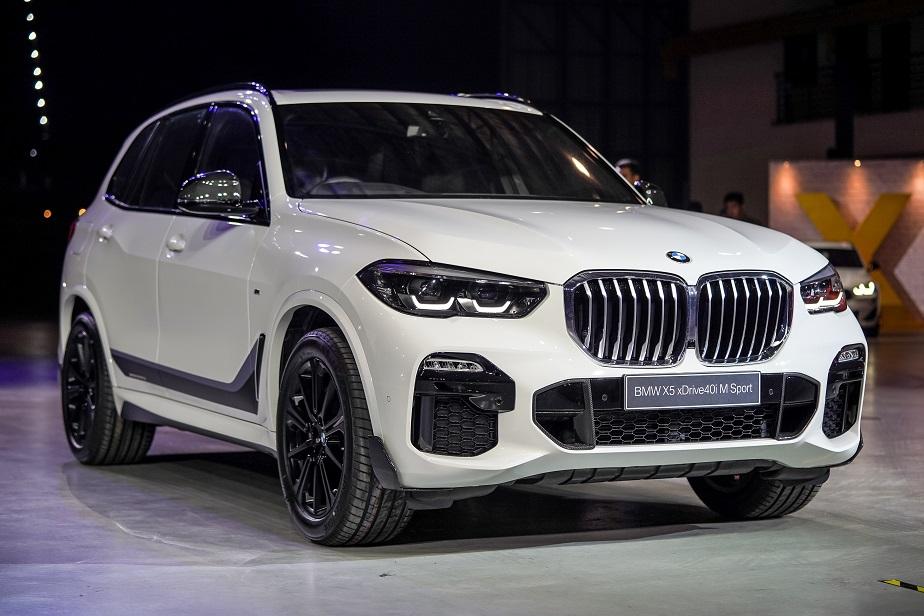 BMW XXX - X5, hadapan