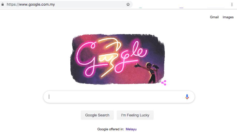 Google Doodle Allahyarham Sudirman