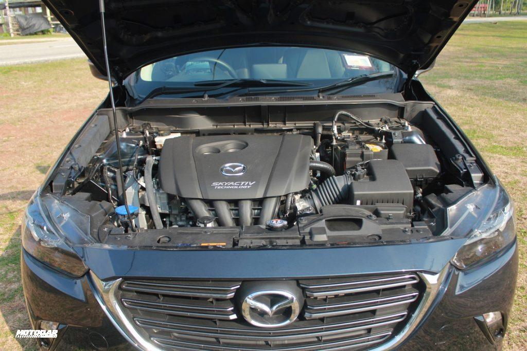 Mazda CX-3 - enjin