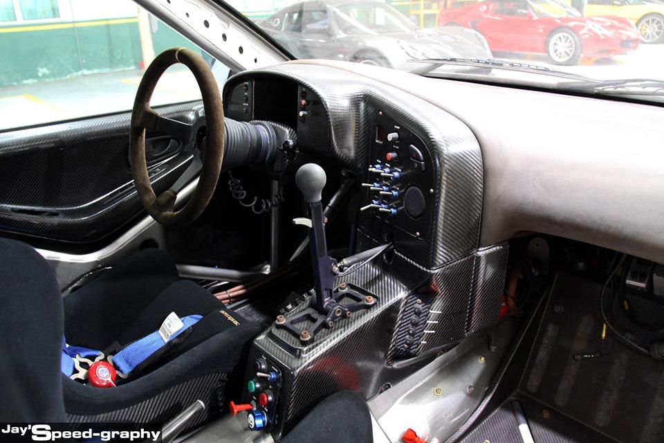 Proton Putra WRC - dalaman