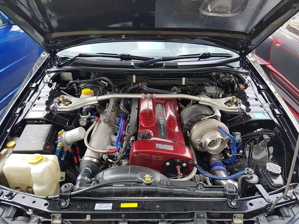 Enjin - Nissan Skyline V-Spec II