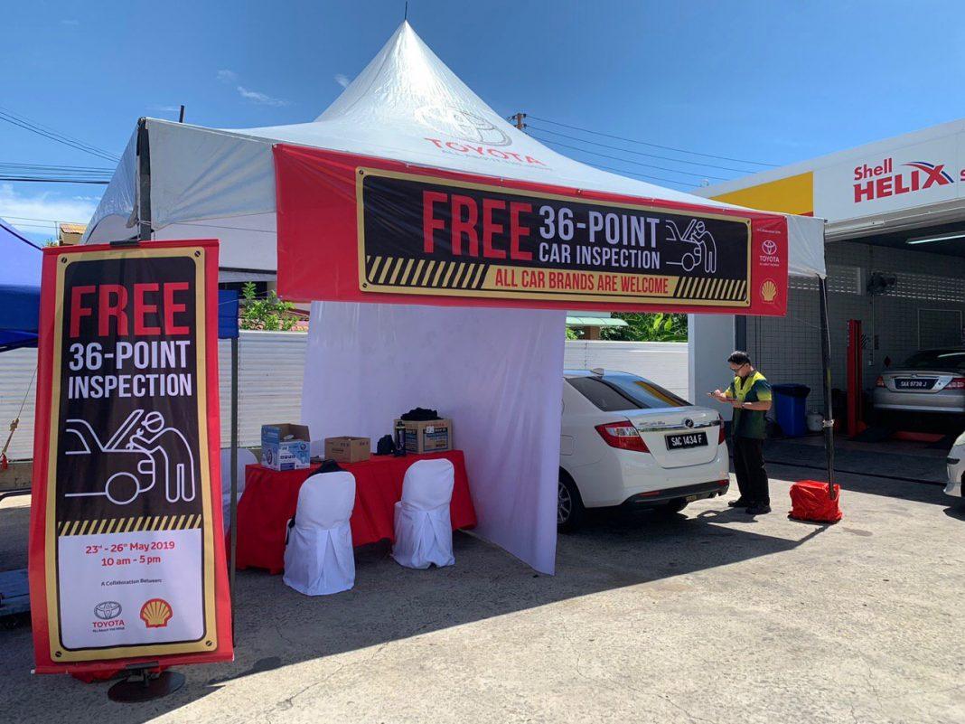 Toyota & Shell tawar pemeriksaan percuma