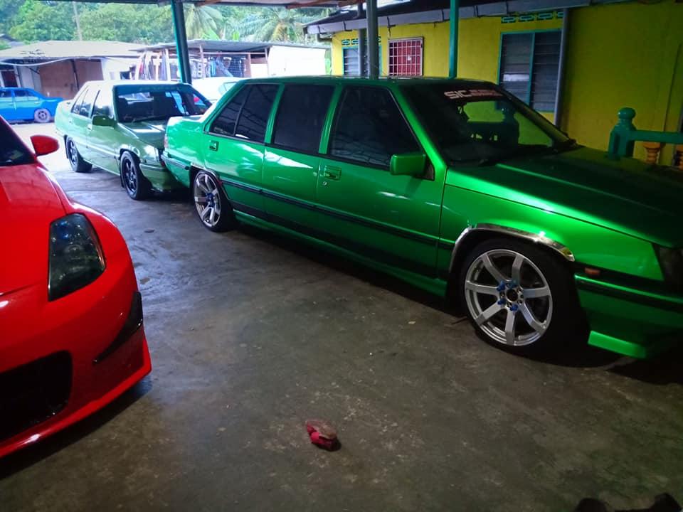 Warna hijau baru - Proton Saga Limosine