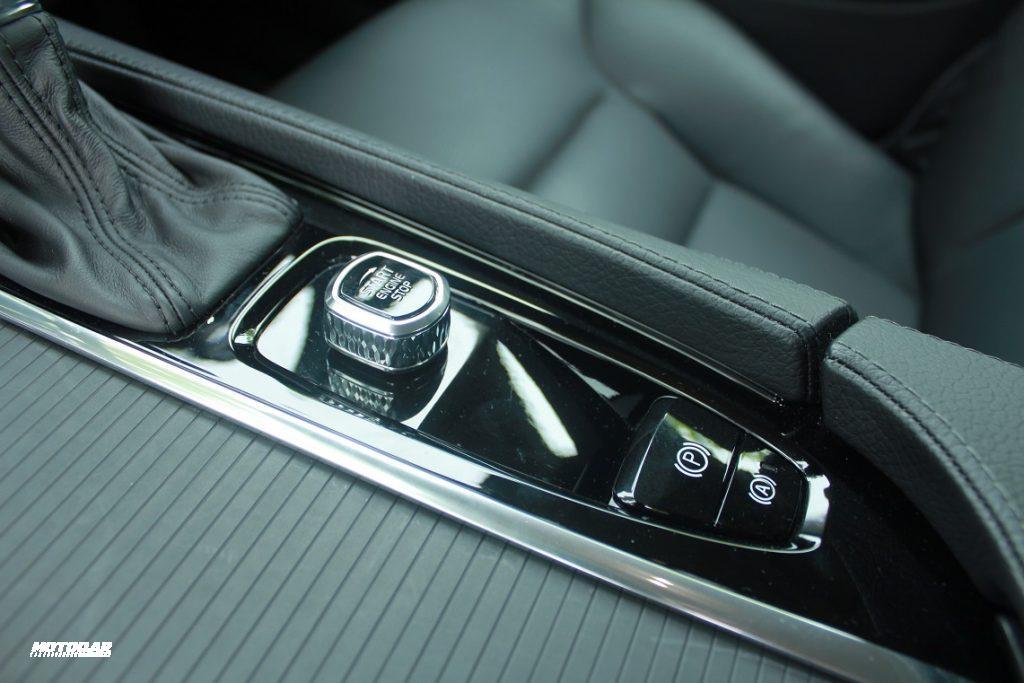 Pandu uji Volvo S90 - Push start button