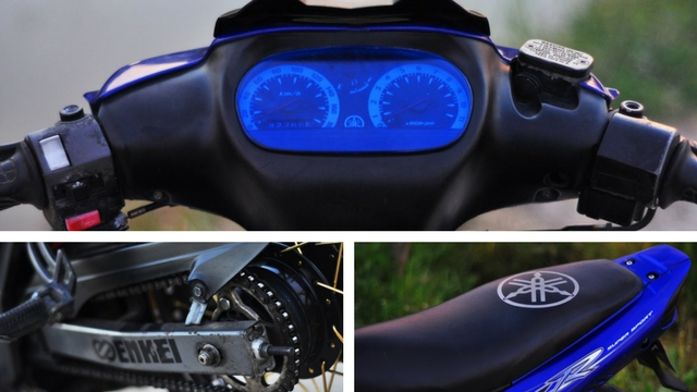 Meter Yamaha 125Z