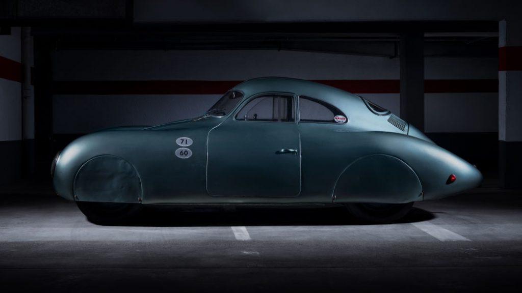pandangan tepi 1939 Porsche Type 64