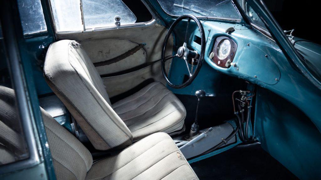 pandangan dalam 1939 Porsche Type 64