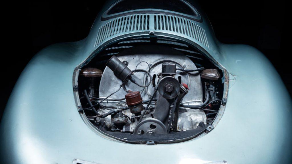 pandangan enjin 1939 Porsche Type 64