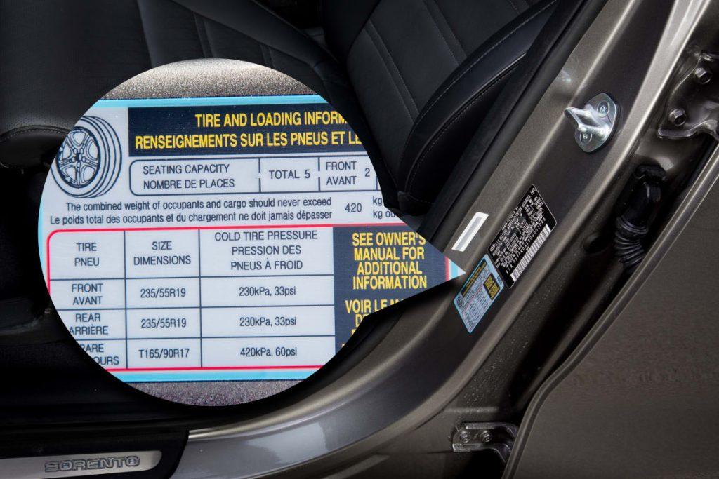 tekanan angin tayar kereta yang optimum