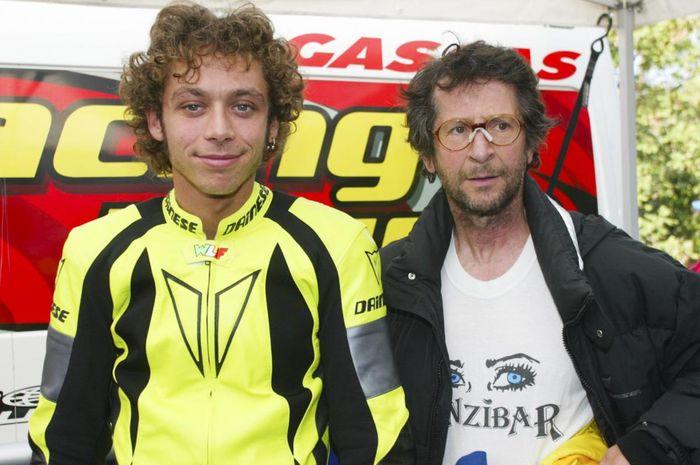 Rossi pernah dilarang
