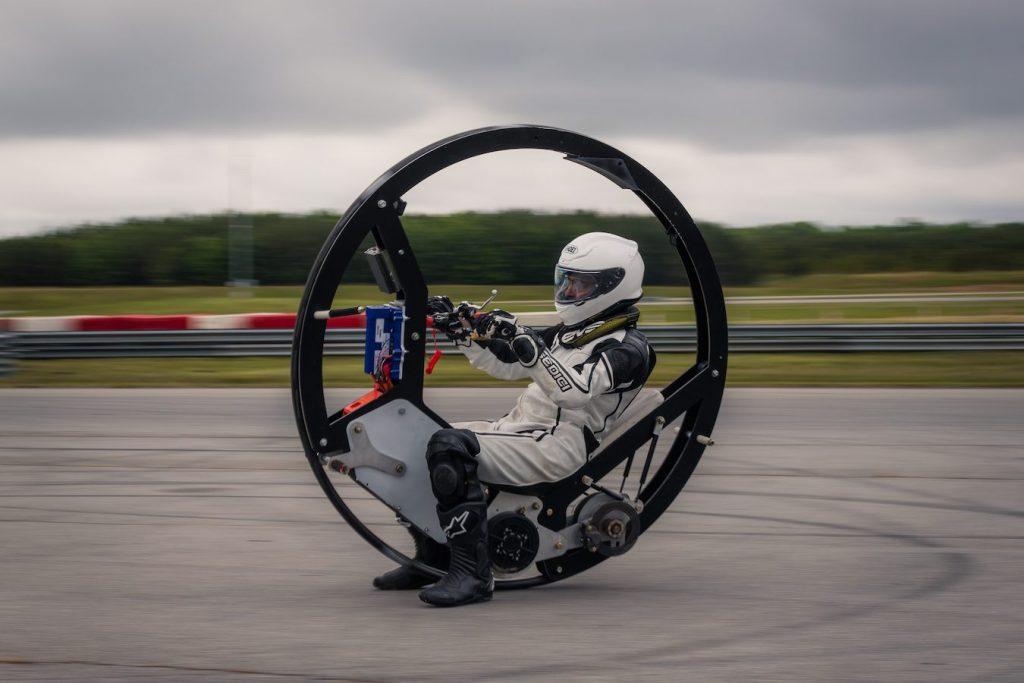 motosikal monowheel