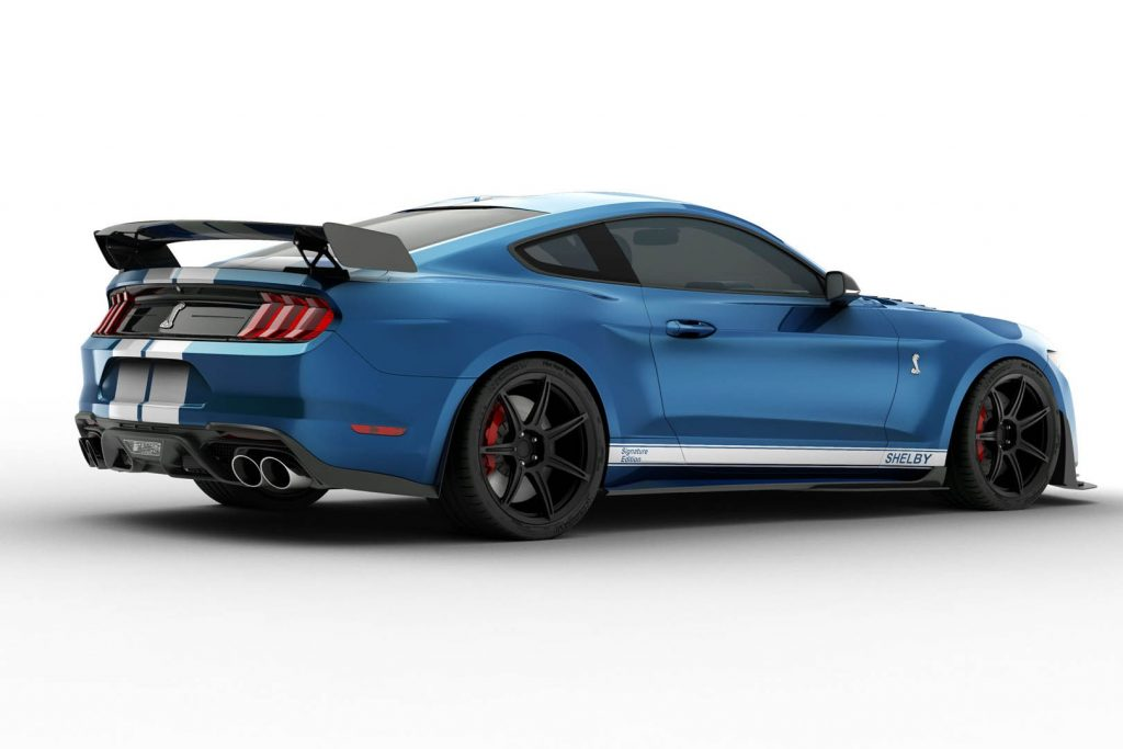 Mustang GT500 GT350 Signature edition