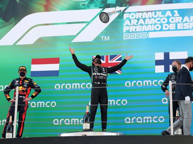Grand Prix Sepanyol lewis hamilton