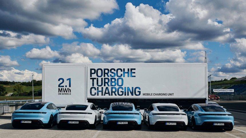 Mobile Charging Unit porsche