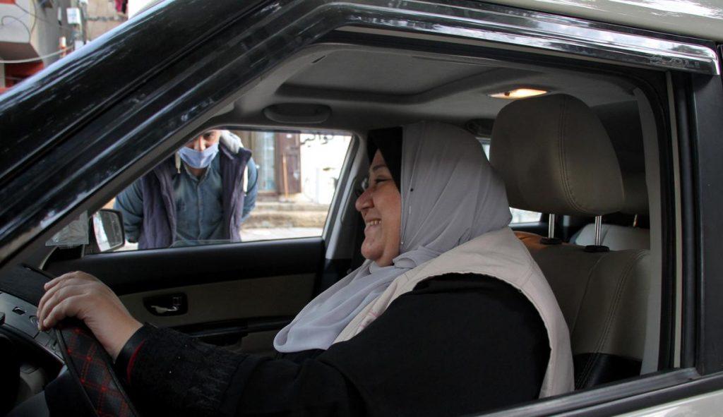 pemandu teksi wanita