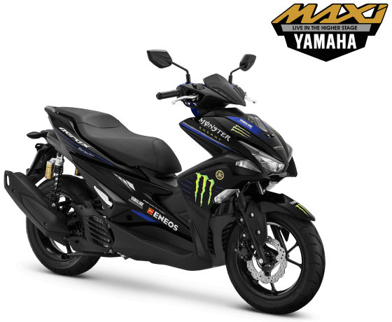 Yamaha Aerox 155 Connected edisi MotoGP