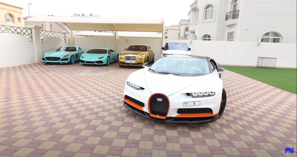 nombor pendaftaran Bugatti Chiron