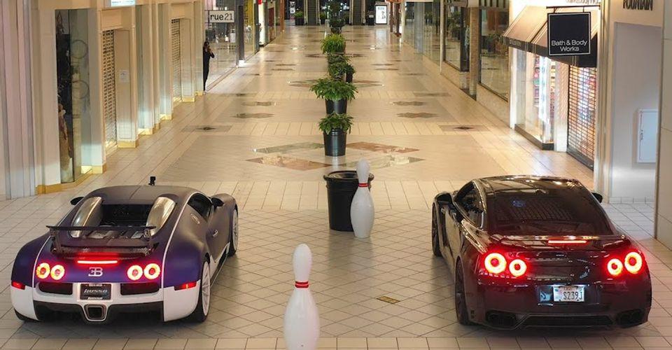 Nissan GT-R R35 bugatti veyron