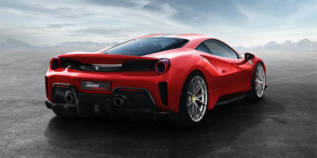 Ferrari 488 Pista kemalangan